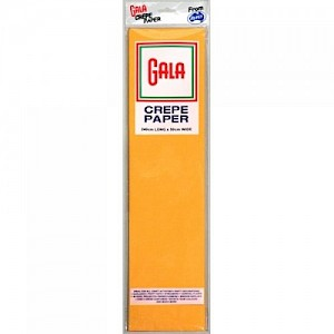 National Gold Gala Crepe Paper