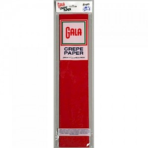 National Red Gala Crepe Paper