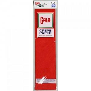 Scarlet Gala Crepe Paper