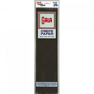 Black Gala Crepe Paper
