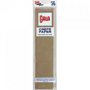 Grey Gala Crepe Paper