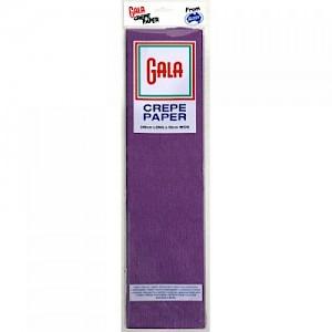 Purple Gala Crepe Paper