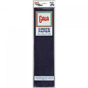 Navy Blue Gala Crepe Paper