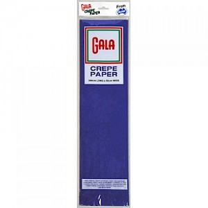 French Blue Gala Crepe Paper