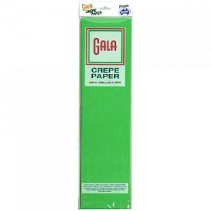 Emerald Green Gala Crepe Paper