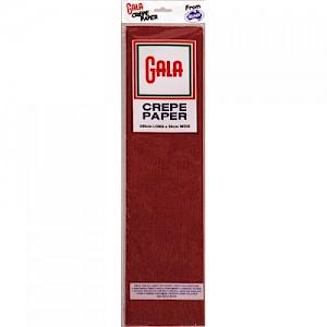 Maroon Gala Crepe Paper