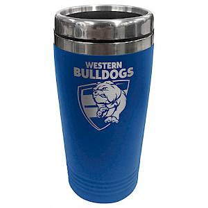 Western Bulldogs Stainless Steel Travel Mug