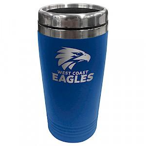 West Coast Eagles Stainless Steel Travel Mug
