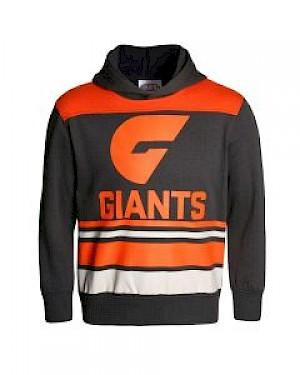 GWS Giants Supporter Hood - Size 14