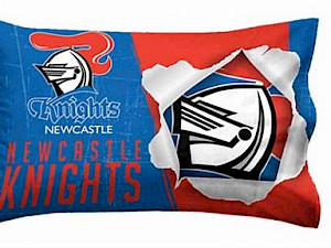Newcastle Knights Pillow Case