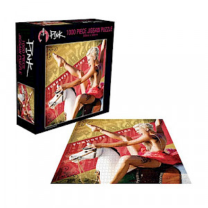 Pink 'Funhouse'Puzzle