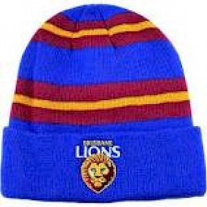 Brisbane Lions Wozza Beanie
