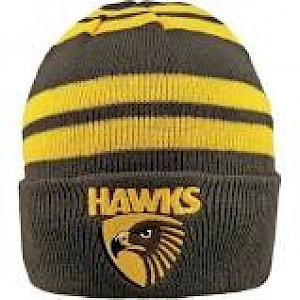 Hawthorn Hawks Wozza Beanie