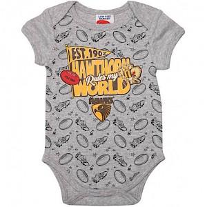 Hawthorn Hawks Baby Romper