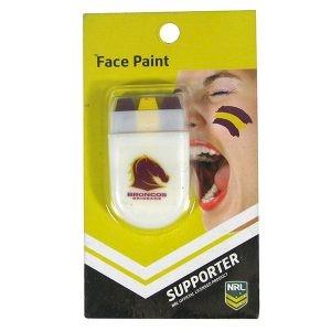 Brisbane Broncos Face Paint Stick