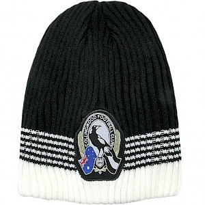 Collingwood Magpies Flex Beanie
