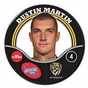 Richmond Tigers Player Badge - MARTIN Dustin