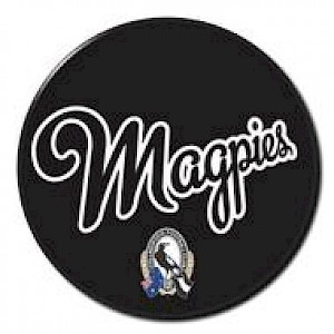 Collingwood Magpies Supporter Badge - Slogan