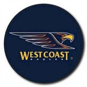 West Coast Eagles Supporter Badge - Logo