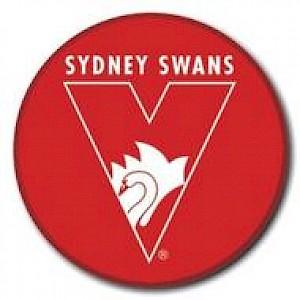 Sydney Swans Supporter Badge - Logo