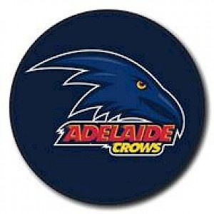Adelaide Crows Supporter Badge - Logo
