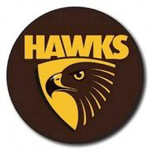Hawthorn Hawks Supporter Badge - Logo
