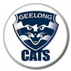 Geelong Cats Supporter Badge - Logo