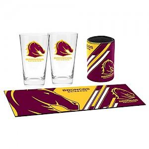 Brisbane Broncos Bar Essentials Gift Pack
