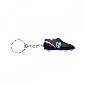 New Zealand Warriors Boot Keyring