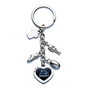 Penrith Panthers Charm Keyring
