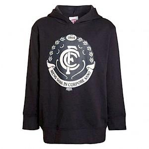 Carlton Blues Logo Hood - Size 8
