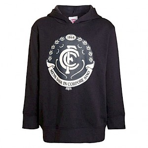 Carlton Blues Logo Hood - Size 14