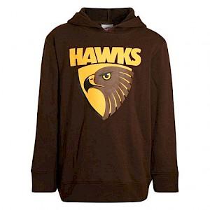 Hawthorn Hawks Toddlers Logo Hood