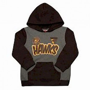 Hawthorn Hawks Toddlers Supporter Pullover Hood