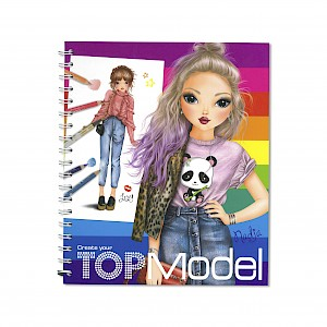 Top Model - Colouring & Activity Book