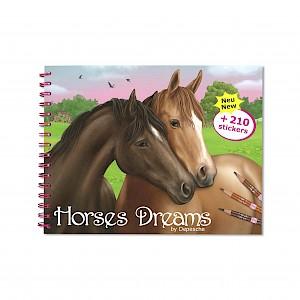 Horse Dreams - Colouring & Activity Book