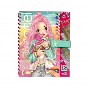 Top Model - Flamingo Special Design & Activity Book with You Tube Scans