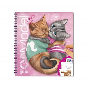 Top Model - Kitty Colouring & Activity Book