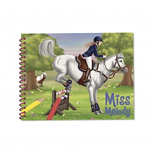 Miss Melody - Dress Up Your Horse Colouring & Activity Book