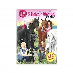 Miss Melody - Pocket Sticker World Activity Book