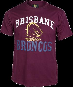 Brisbane Broncos Tee - Size 4