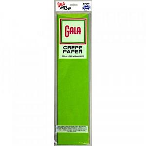 Lime Gala Crepe Paper