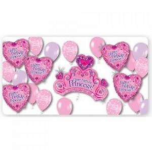Happy Birthday Princess Balloon Pack