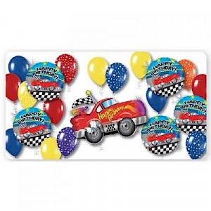 Sports Car Birthday Balloon Pack