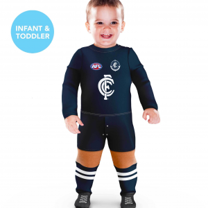 Carlton Blues Footysuit - Size 00