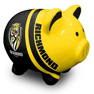Richmond Tigers Piggy Money Box