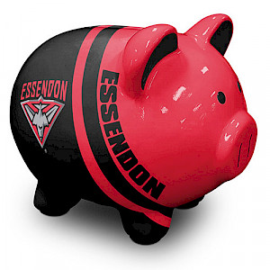 Essendon Bombers Piggy Money Box