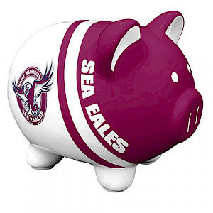 Manly Warringah Sea Eagles Piggy Money Box