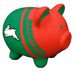 South Sydney Rabbitohs Piggy Money Box