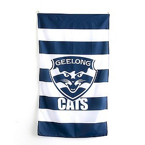 Geelong Cats Supporter Flag